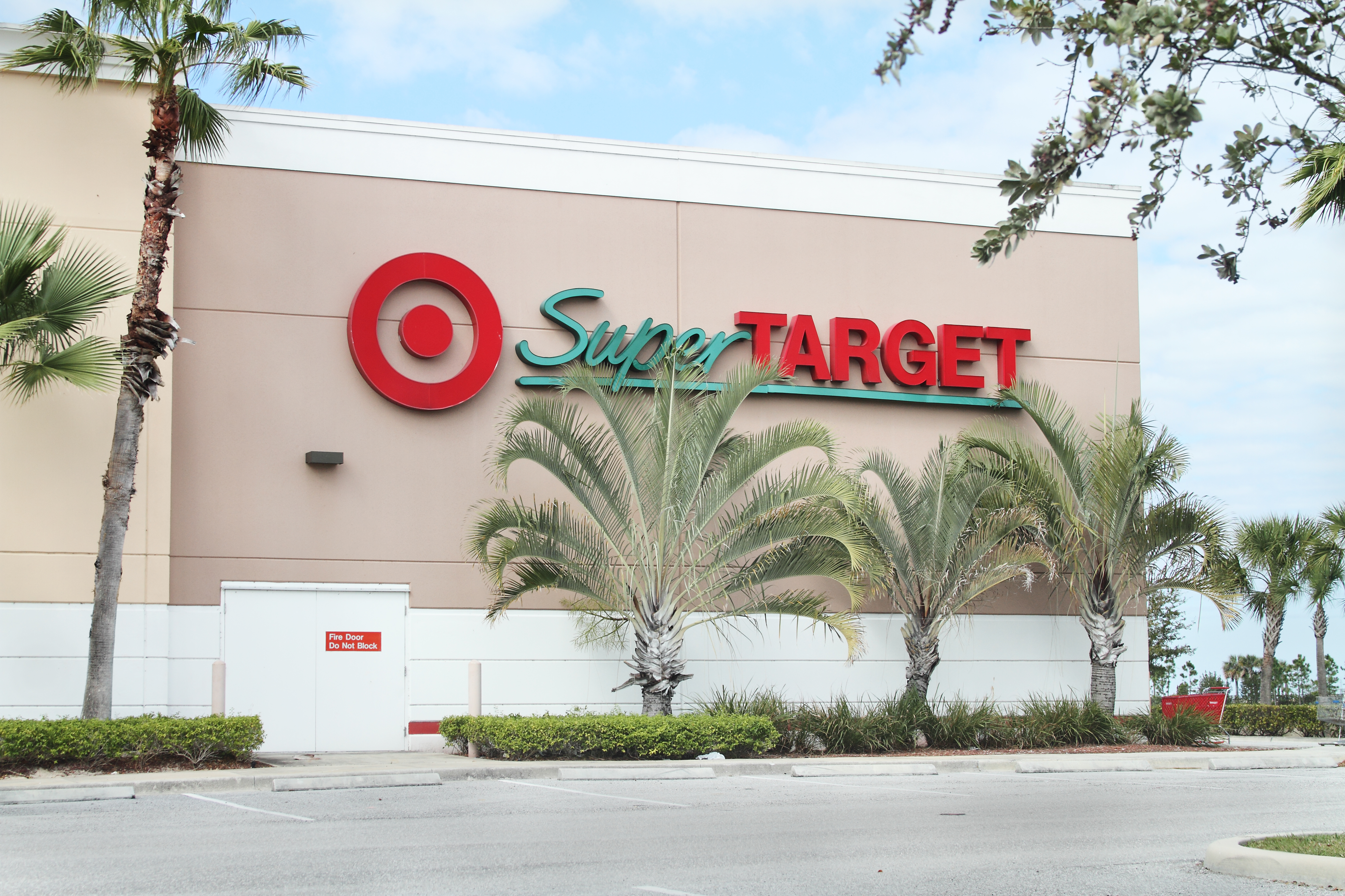 A Super Target retail store in West Palm Beach, Florida.