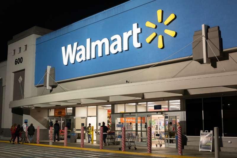 A Walmart store in Mountain View, California.