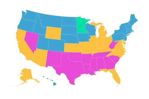 This Map Shows the Average Credit Score in Every State. See How You Match up