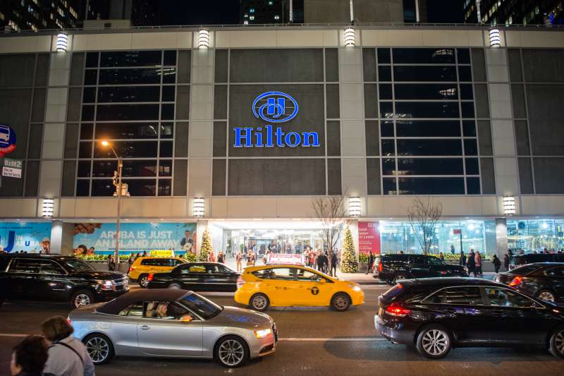 The New York Hilton Midtown.