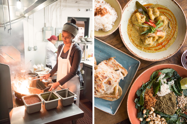 Teni East Kitchen, a Burmese restaurant in Oakland, California.