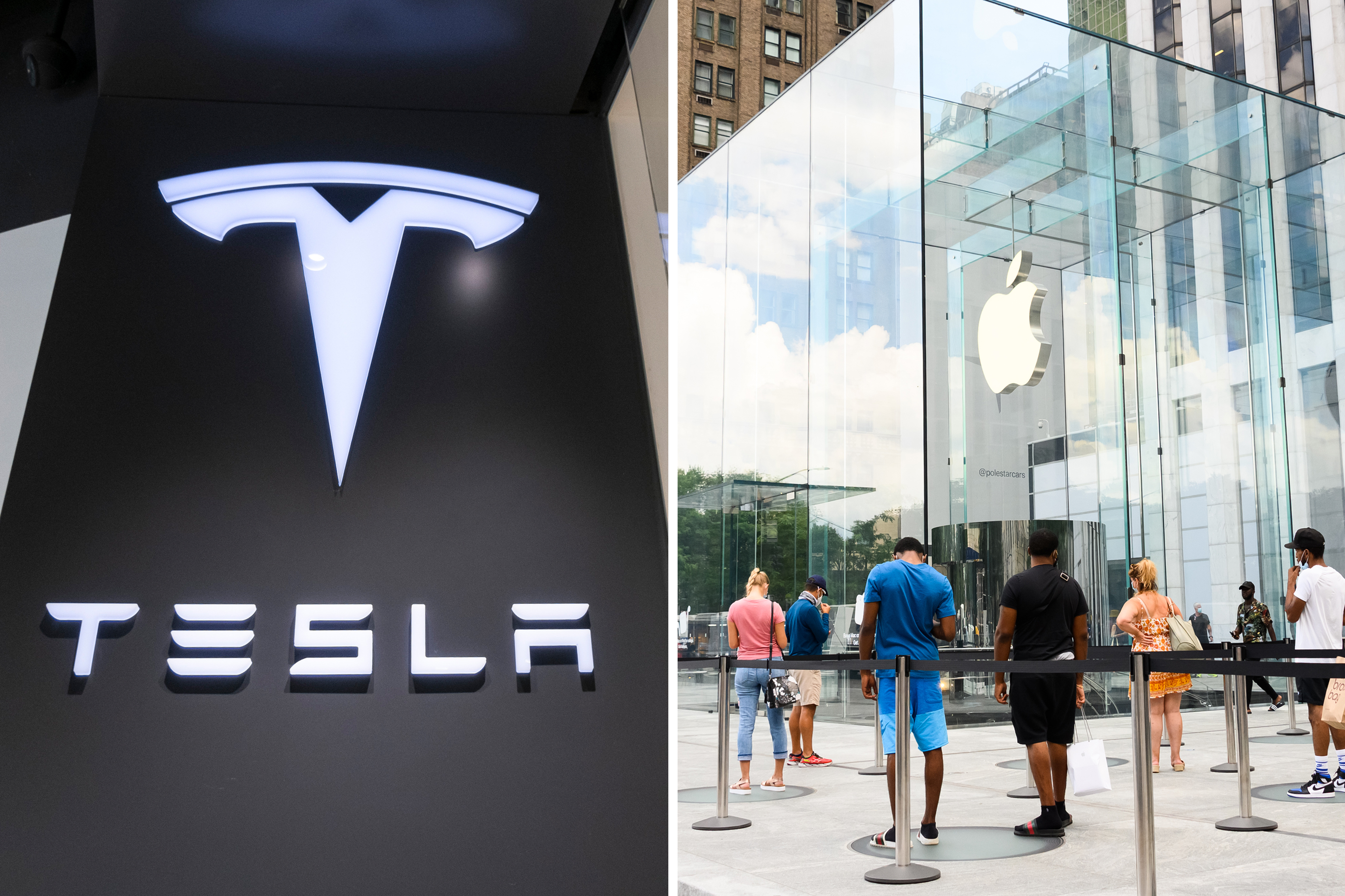 Apple and Tesla Are Taking Off (Again) After Stock Splits