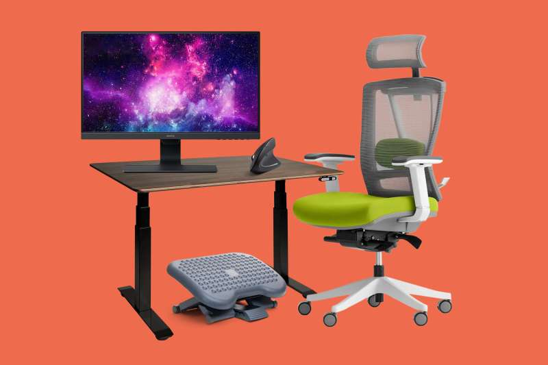 Best Ergonomic Chair Keyboard And Home Office Desk Money