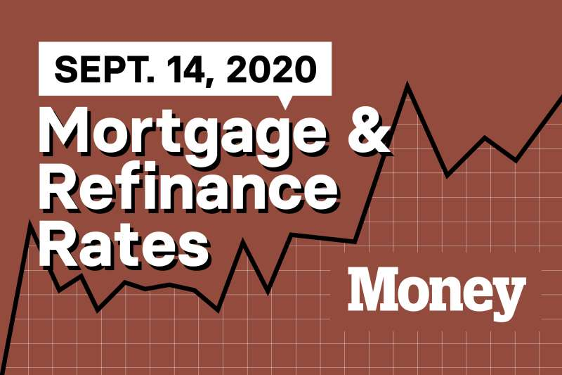 Best Mortgage Refinance Rates For September 14 2020 Money